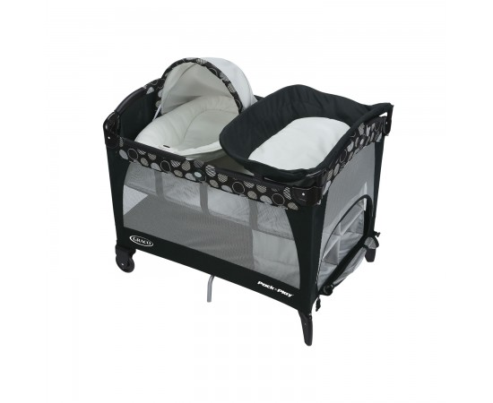 Graco Cuna + Corralito + Cambiador Cuddle Cove Motif Pack 'n Play®