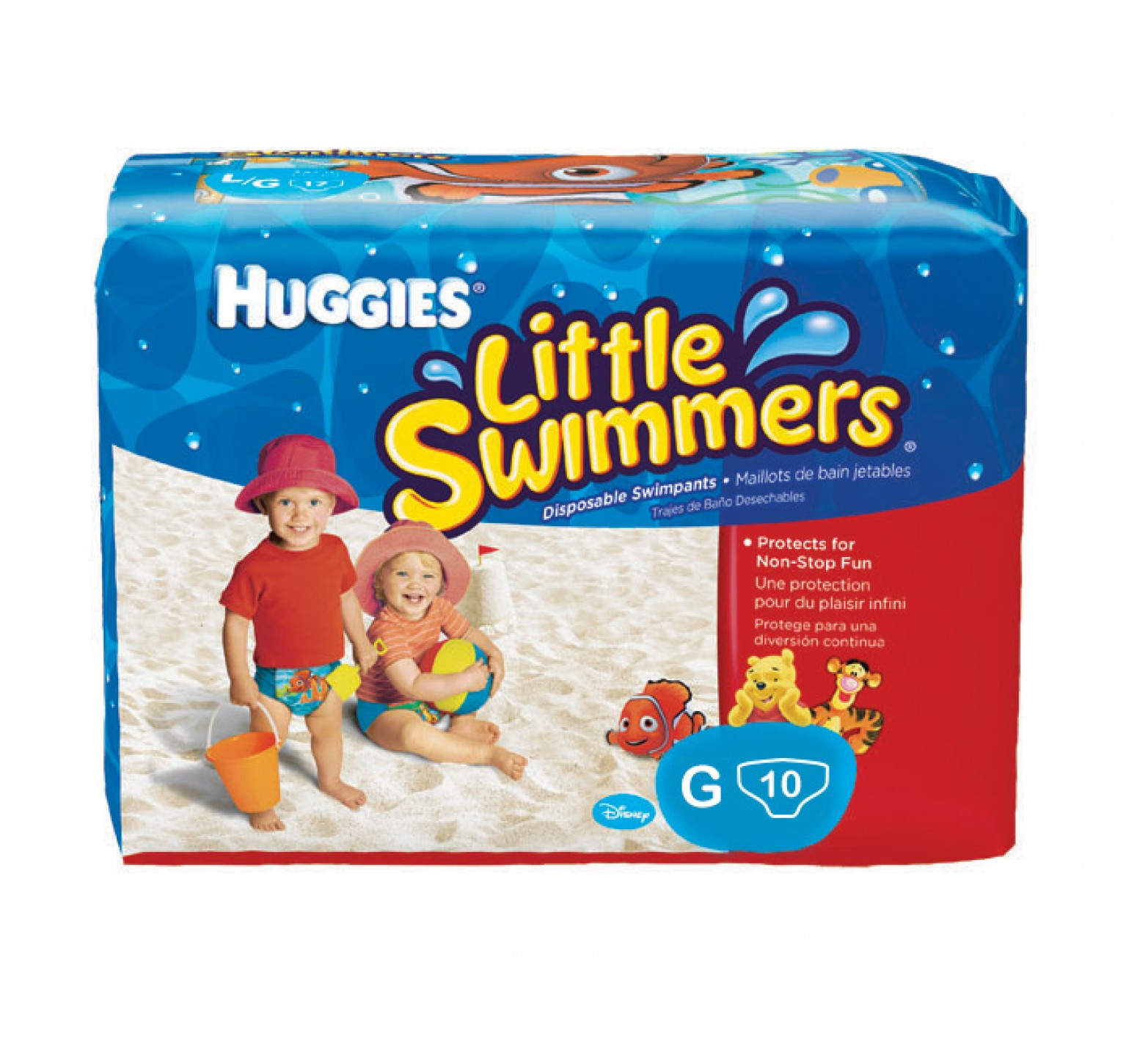 Huggies Little Swimmers [G] 10 unidades