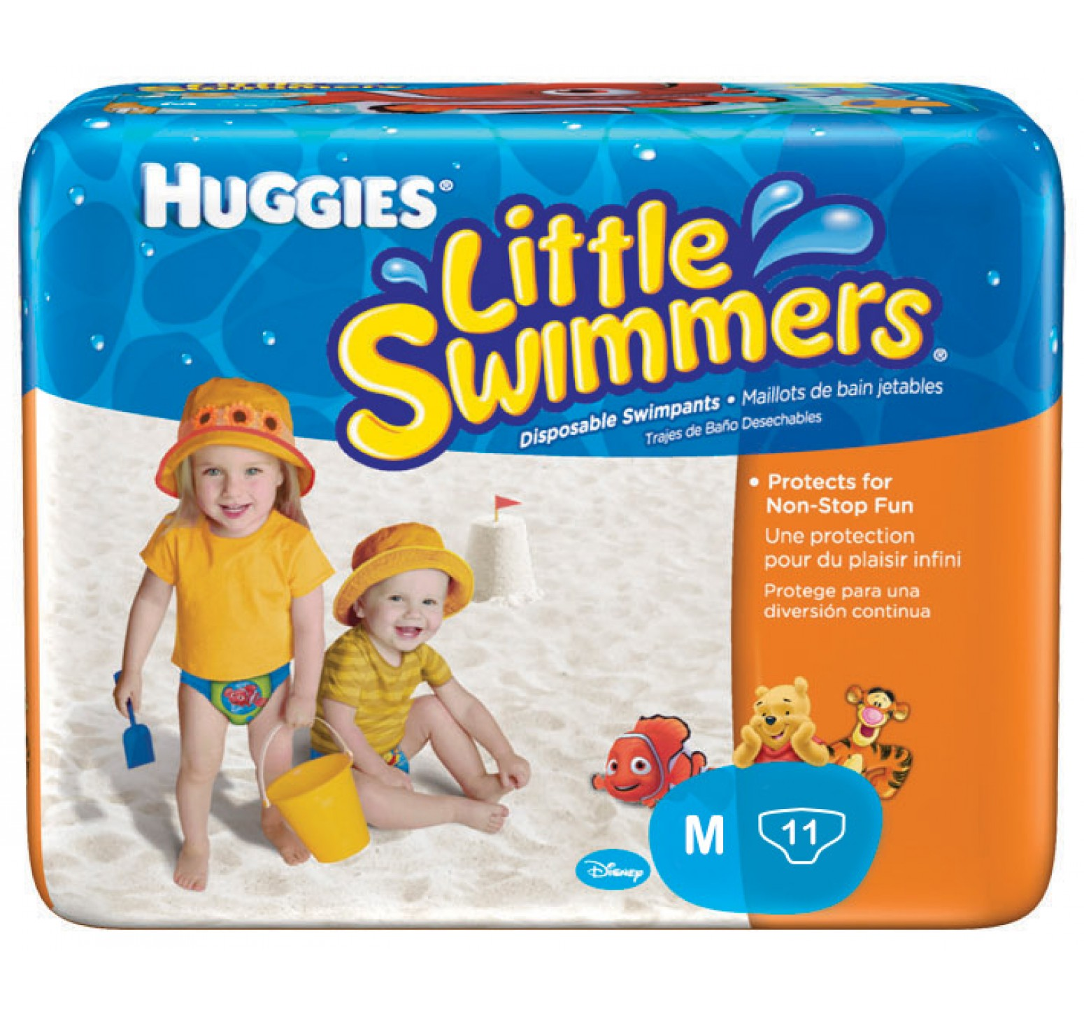 Huggies Little Swimmers [M] 11 unidades