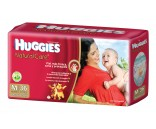 Huggies Natural Care [M] Mediano (1 pack de 36 pañales)