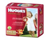Huggies Natural Care [XXG] Extra Extra Grande (1 pack de 24 pañales)