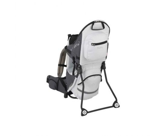 Kiddy Adventure Pack Child Carrier - Mochila trasportadora gris