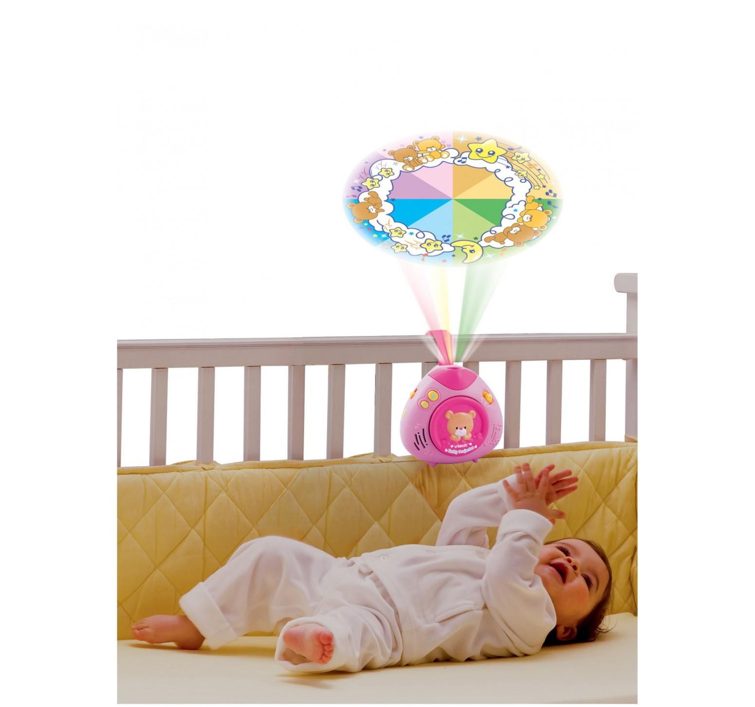 VTech Proyector osito dormilón rosa