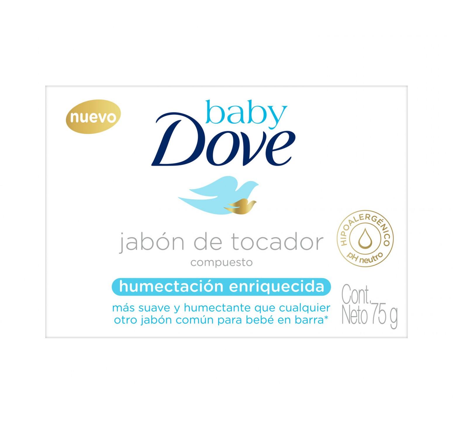 Baby Dove Jabón de tocador Humectación Enriquecida