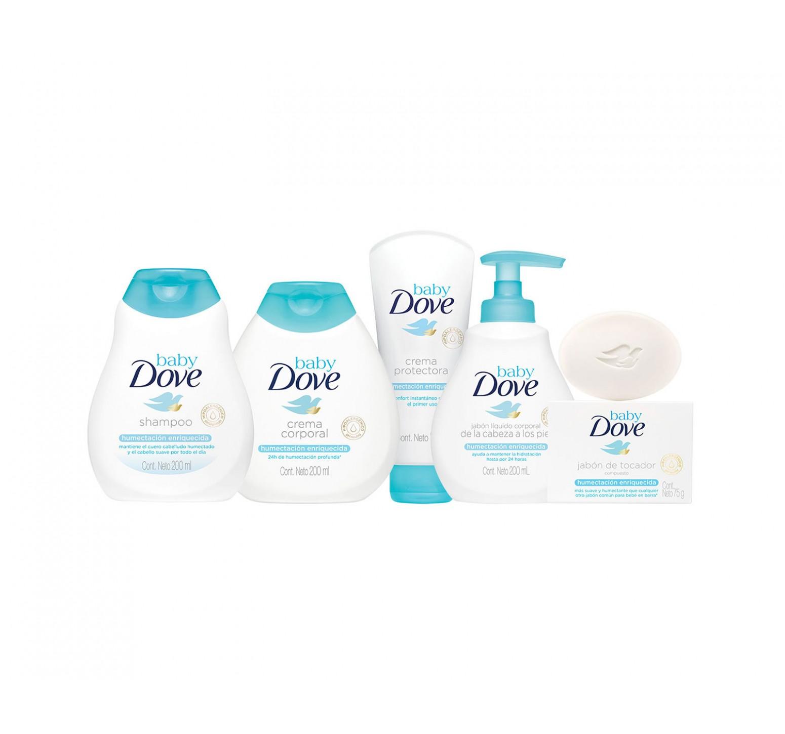 Baby Dove Shampoo Humectación Enriquecida