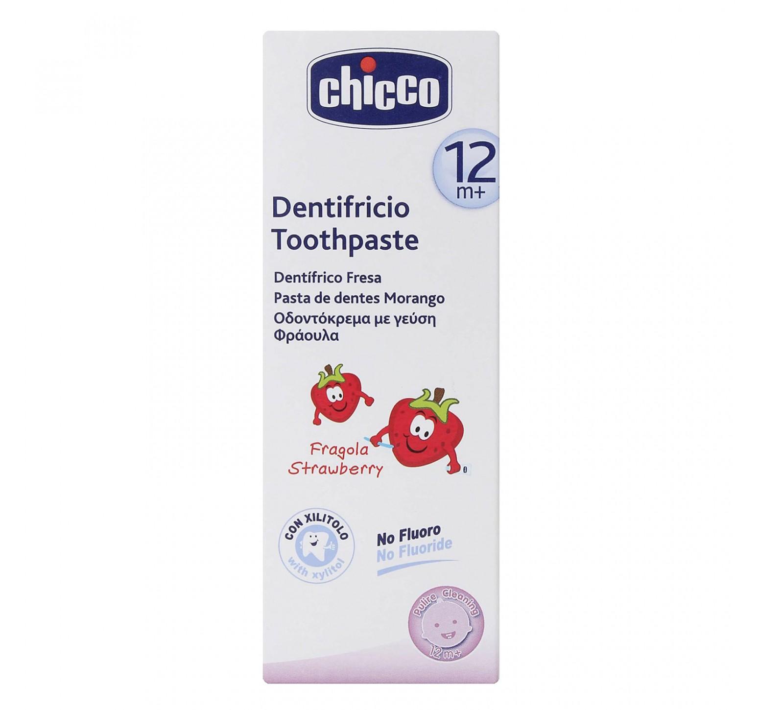 Chicco Pasta dental 12m+ fresa