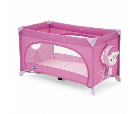 Chicco Cuna Easy Sleep Playard Rosa