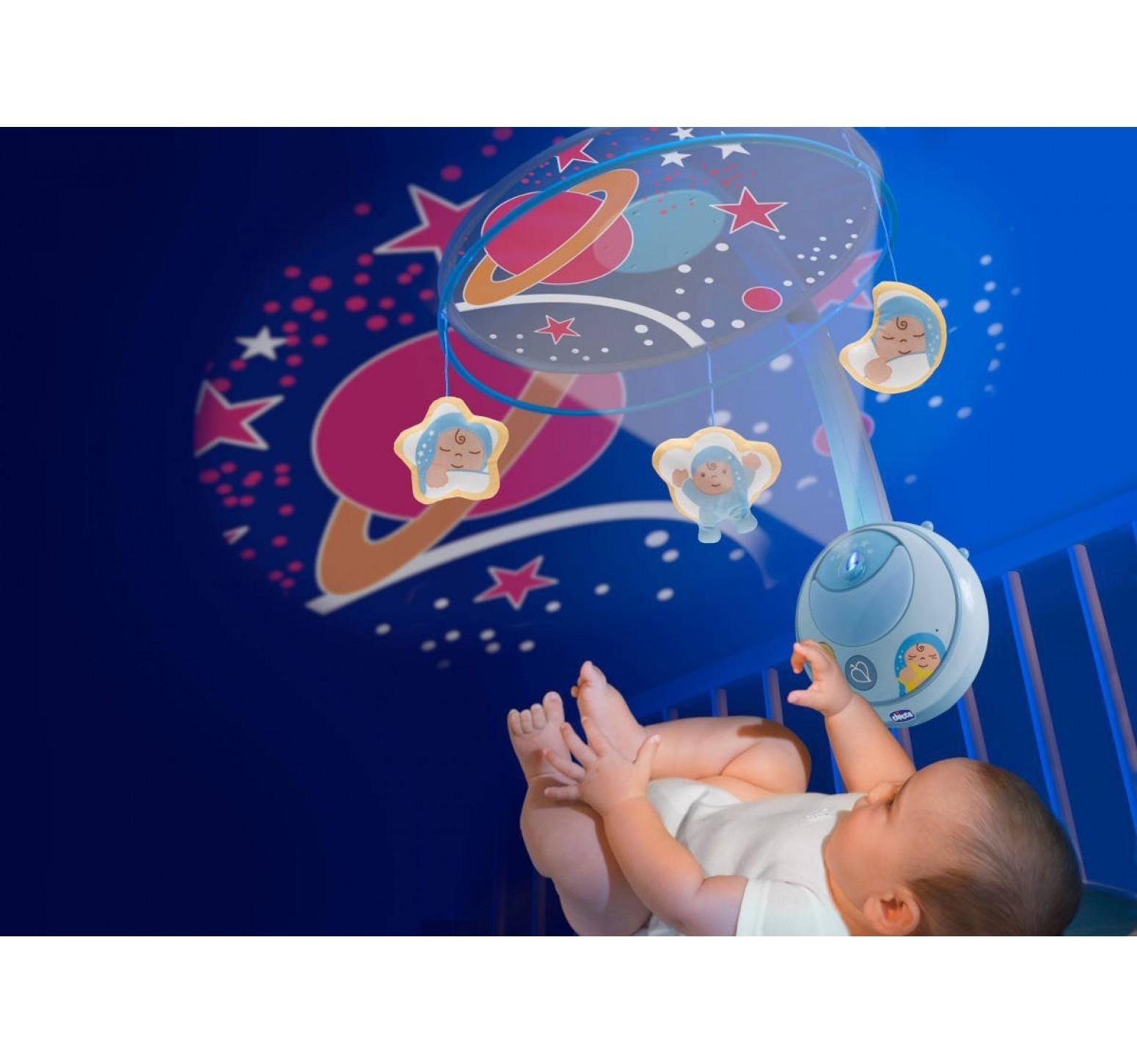 Chicco móvil estrella mágica azul