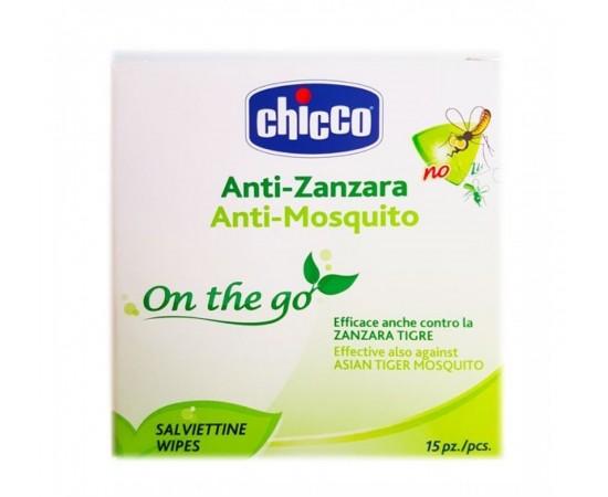 Chicco Toallitas repelentes anti-mosquitos + 3 años