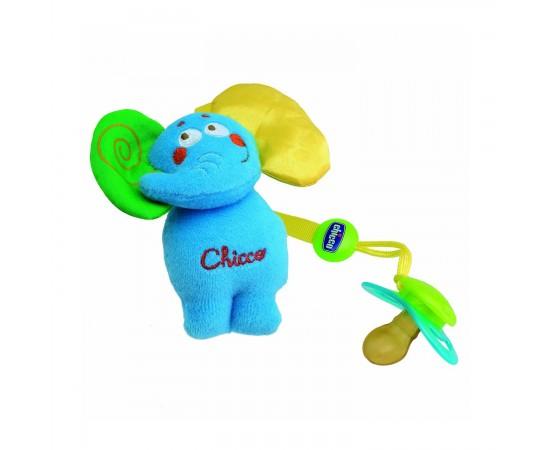 Chicco Clip protege chupetes Elefante