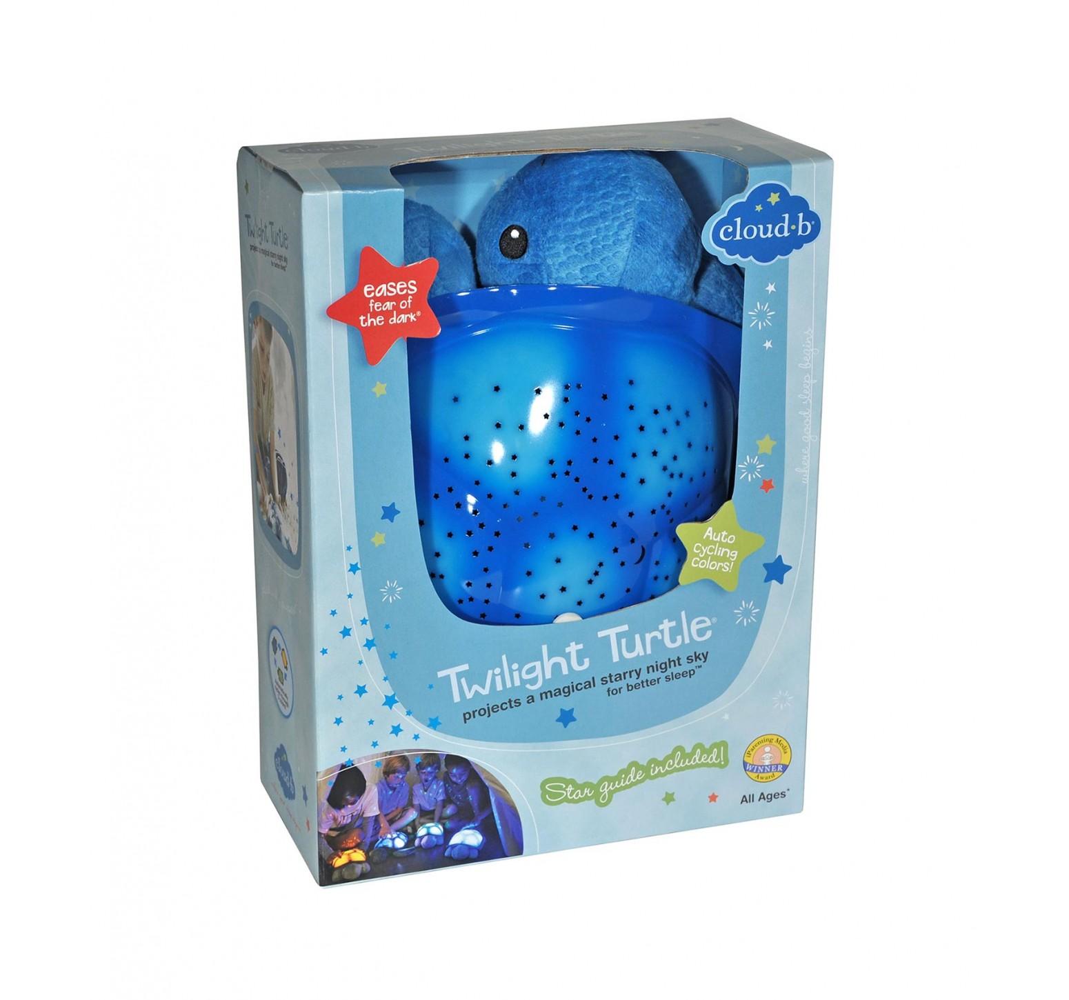 Cloud b Twilight Ocean Turtle - Tortuga Planetario Azul