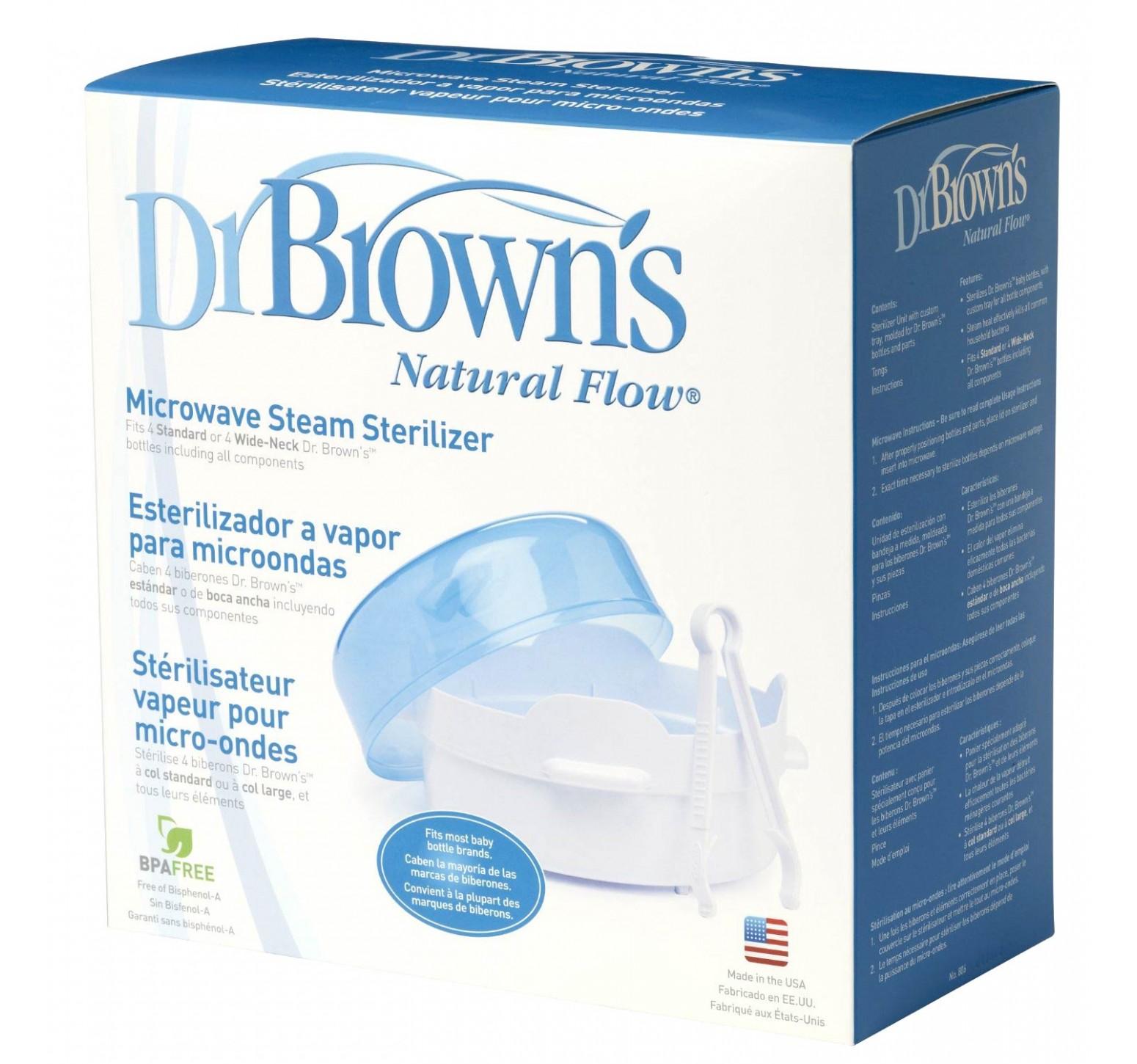 Dr.Brown's Esterilizador a vapor para microondas