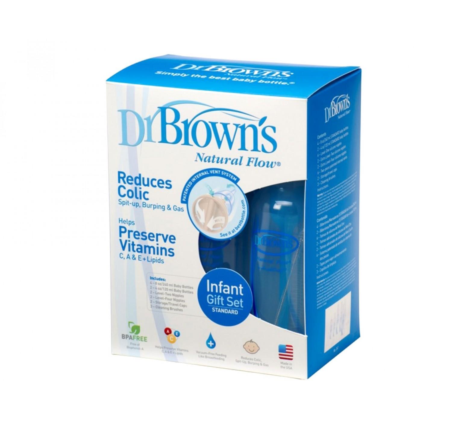 Dr.Brown's Set de regalo infantil estándar (6 unidades)