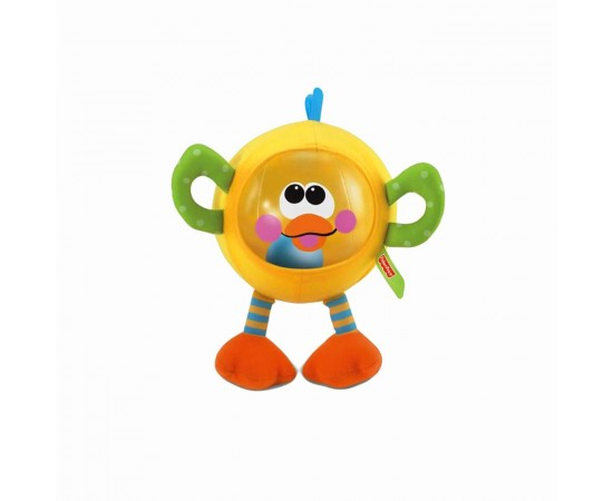 Fisher-Price Sonajero Animal inflable con sonidos y multi texturado
