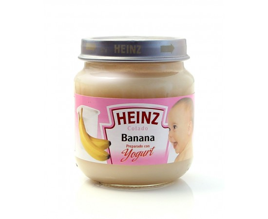 Heinz Colado de banana preparado con yogurt
