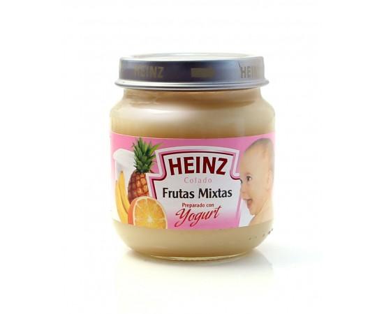 Heinz Colado de frutas mixtas preparado con yogurt