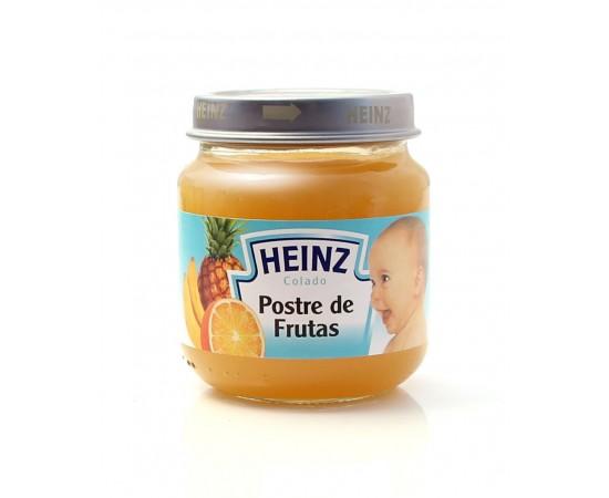 Heinz Colado postre de frutas