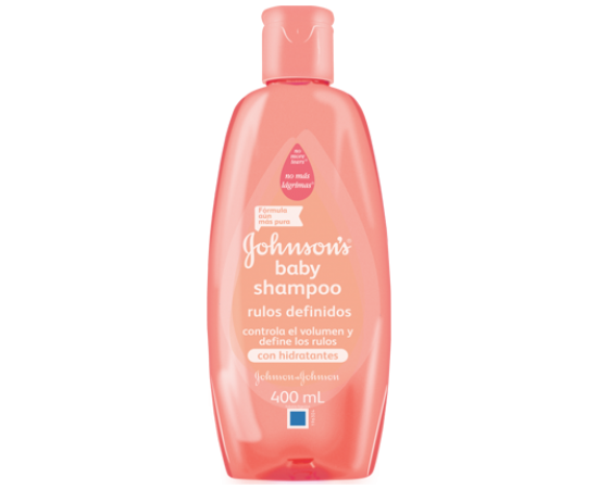 Johnson's Baby Shampoo rulos definidos (200 ml.)