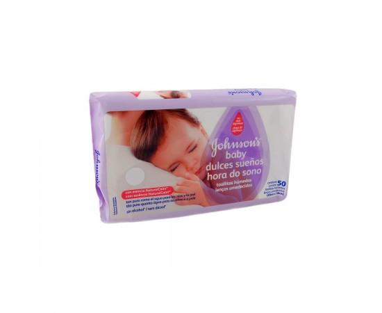 Johnson's Baby Toallitas húmedas lavanda y manzanilla (48 unidades)