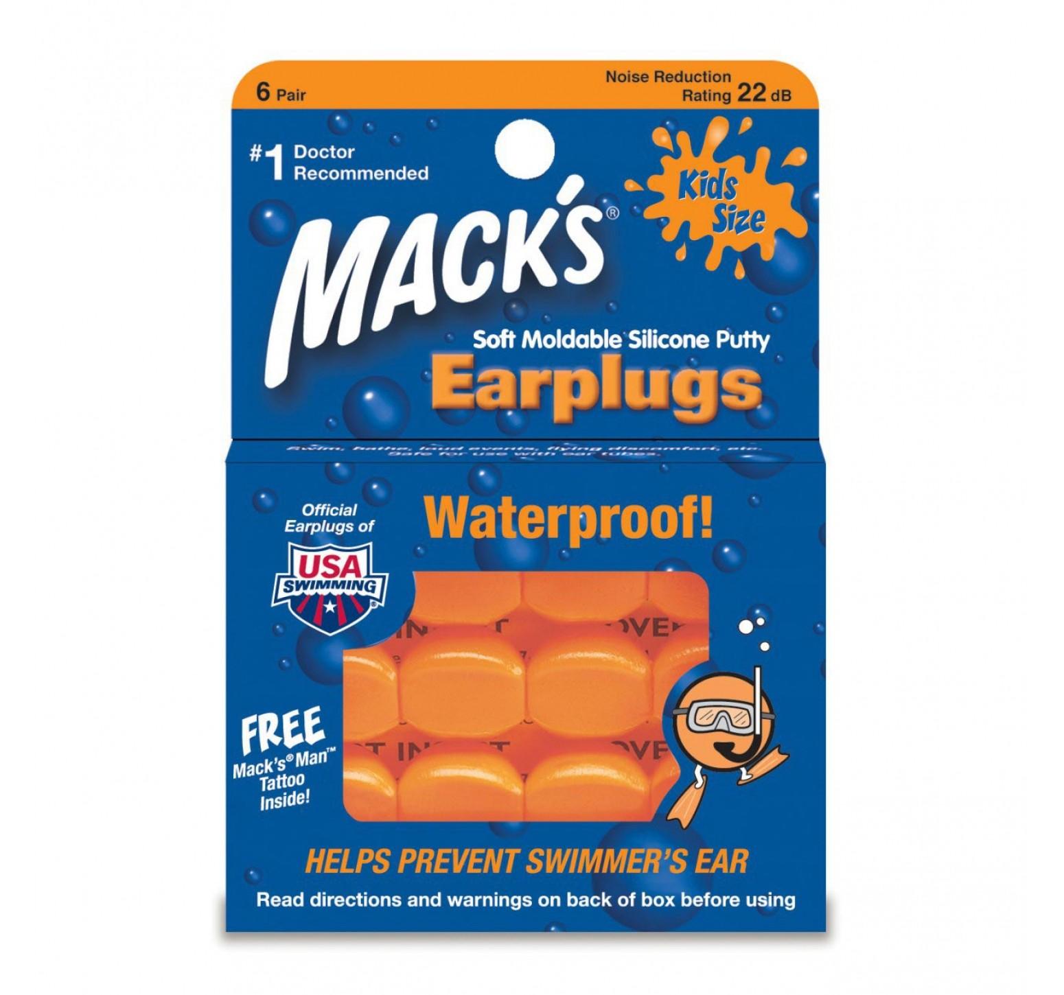 Mack's Tapón de oídos para niños