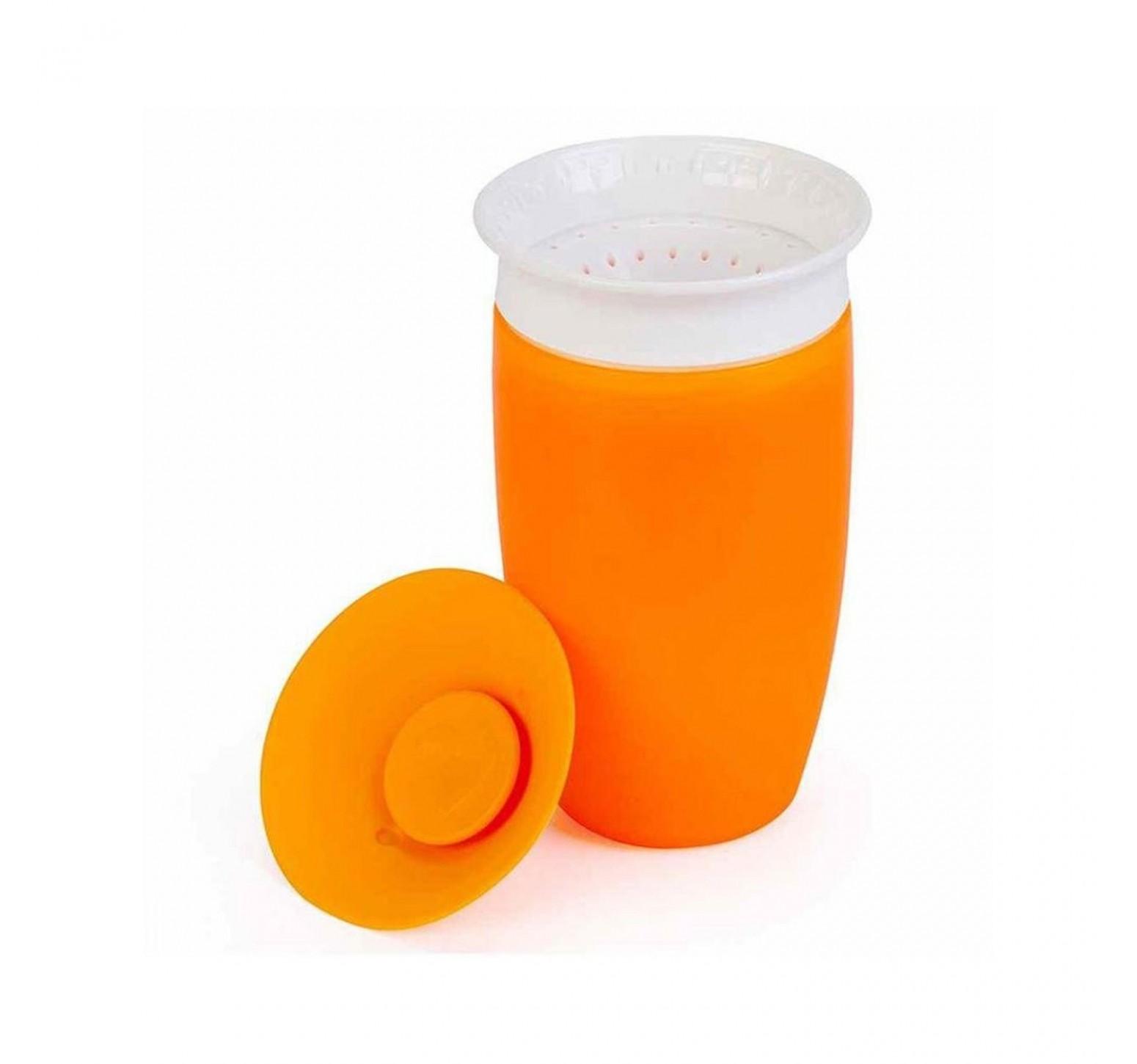 Munchkin Vaso de entrenamiento Miracle 360 naranja  (296ml)