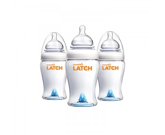 Munchkin Biberones Latch set x 3 unidades (240 ml)