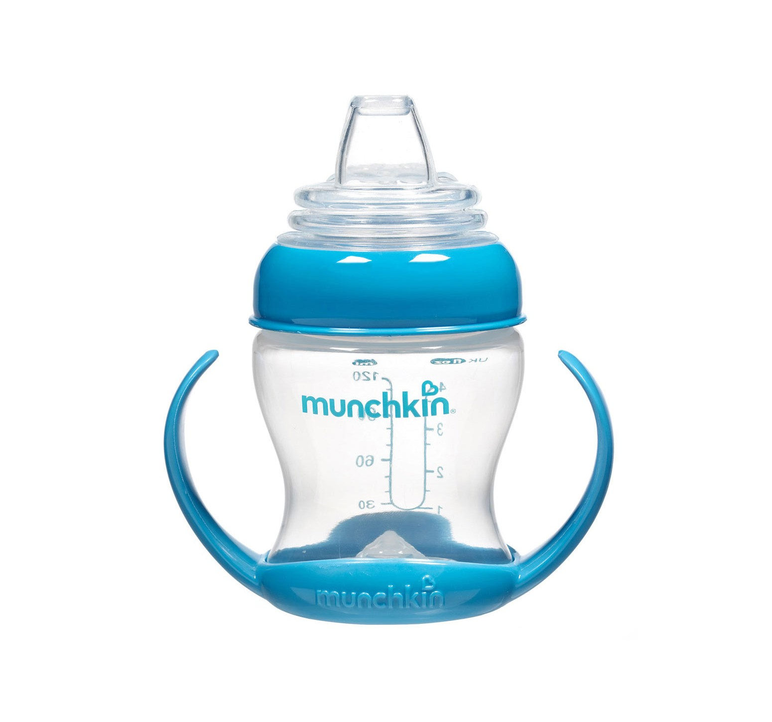 Munchkin Vaso de transición flexible azul