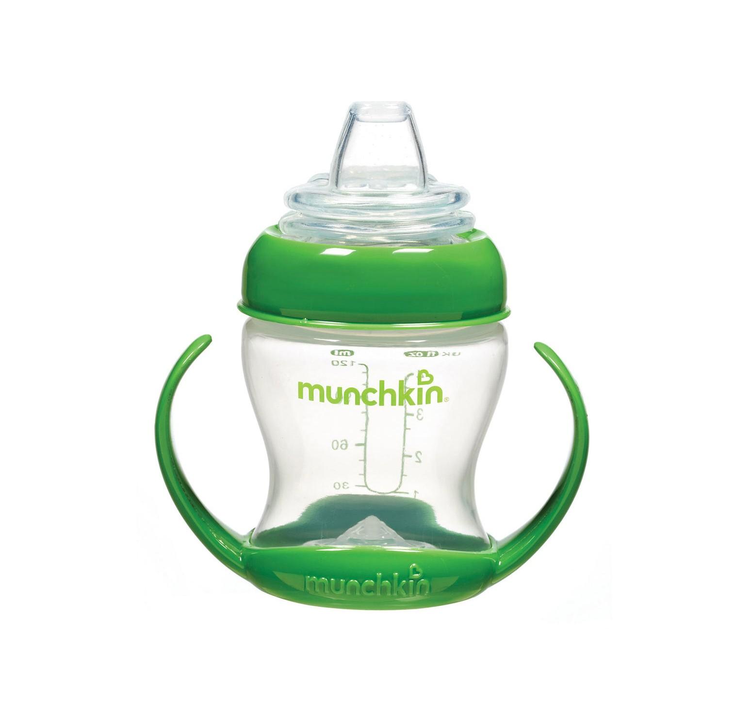 Munchkin Vaso de transición flexible verde