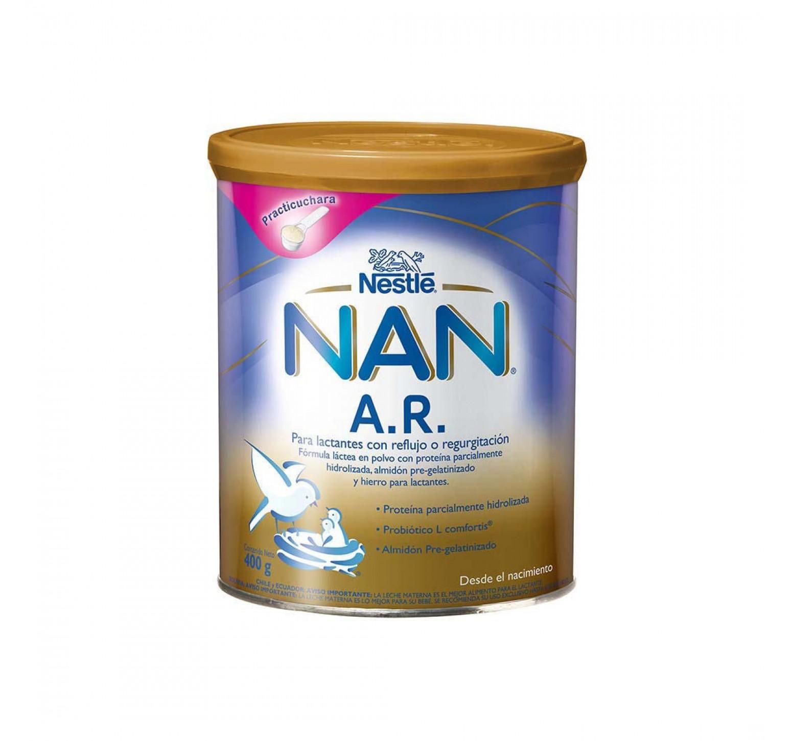 Nestlé Leche en polvo Nan A.R. Antirreflujo (400 gr.)