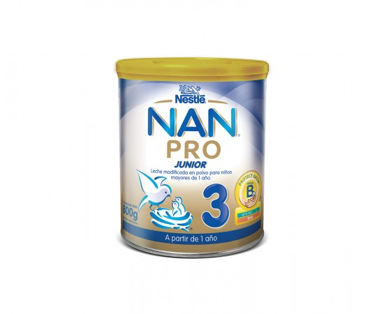 Nestlé Leche en polvo Nan Pro Junior 3 (800 gr.)