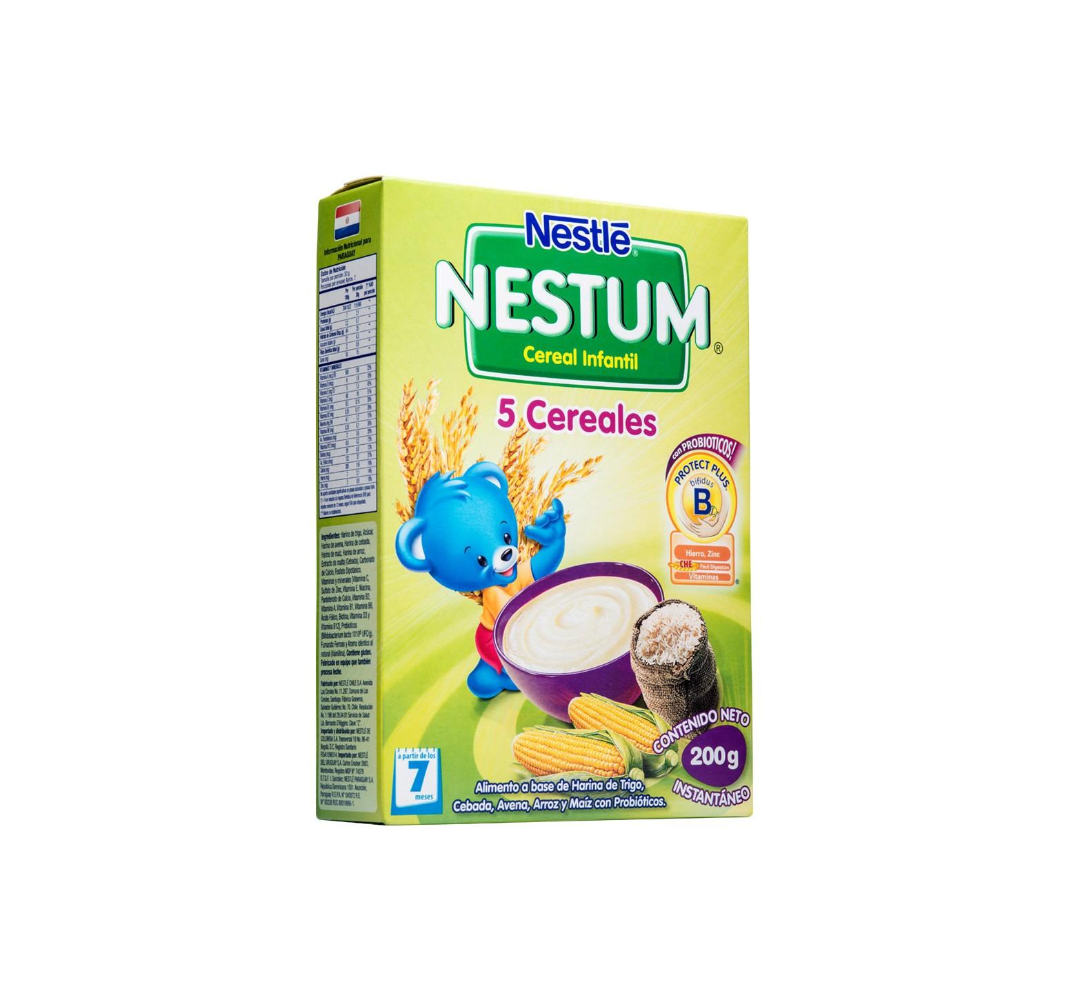 Nestlé Cereal infantil Nestum 5 Cereales (200 gr.)