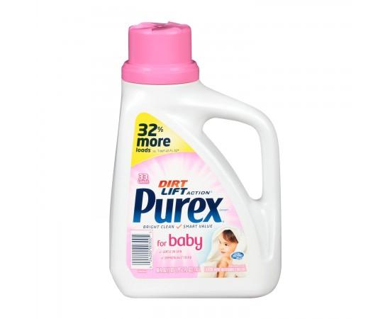 Purex Baby Jabón líquido hipoalergénico para ropas  (1,47 lts.)