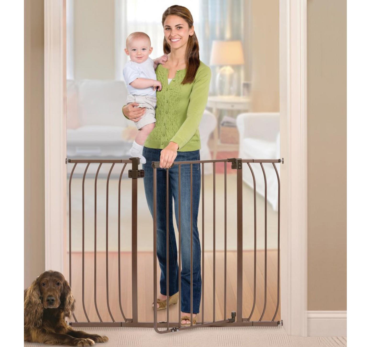 Summer Barrera de seguridad para escaleras (Bronce)