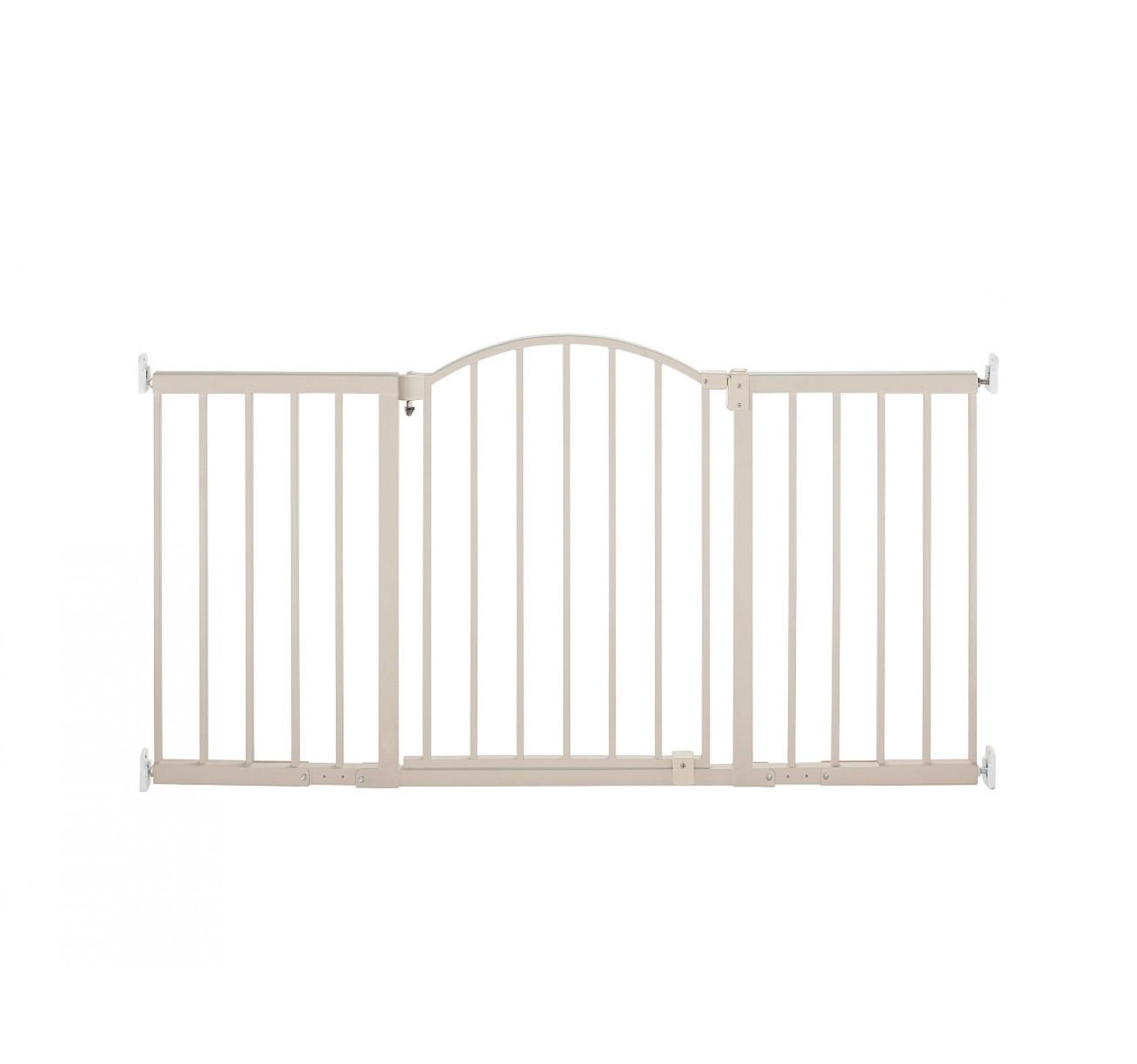 Summer Barrera de seguridad para escaleras extra ancha (Blanca)